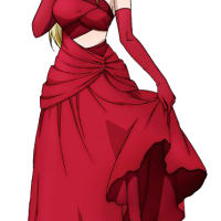 Red Dress Lucy